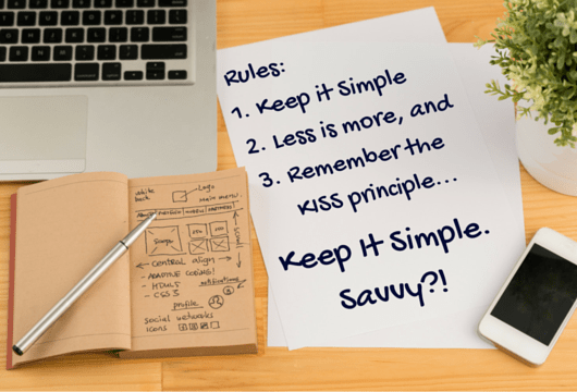 Simply Savvy Web Design + Strategy Keep it Simple