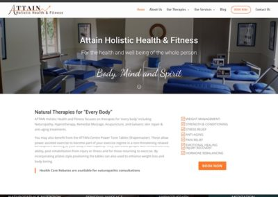 Attain Holistic Health & Fitness