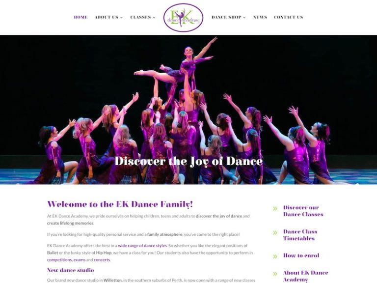 Dance Classes Perth. Ballet, Hip Hop, Jazz, Tap. EK Dance