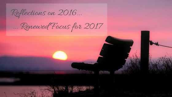Reflections on 2016, my first year of business, and renewed focus for 2017